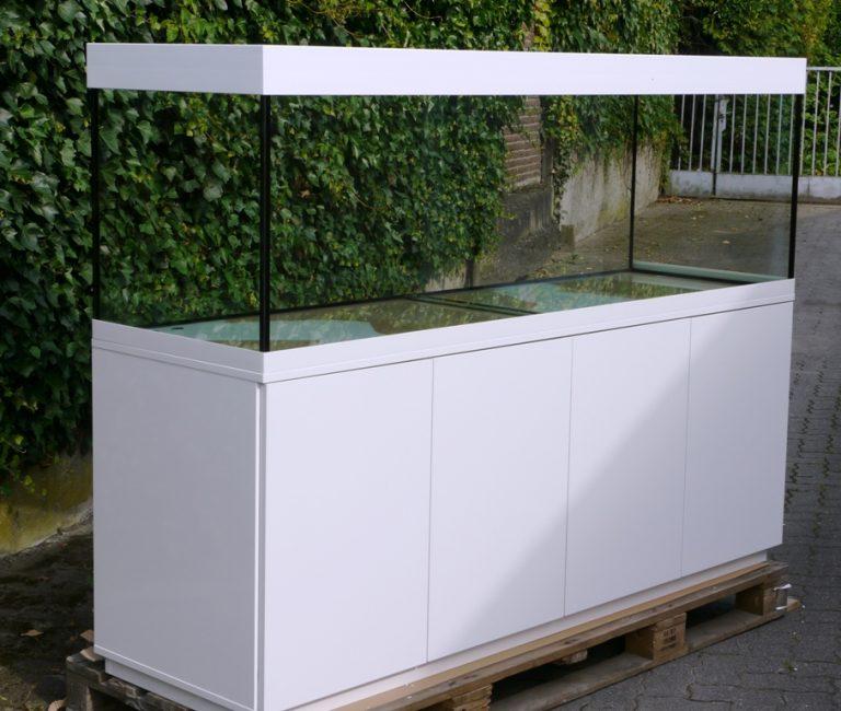 Aquarienkombination Weiss